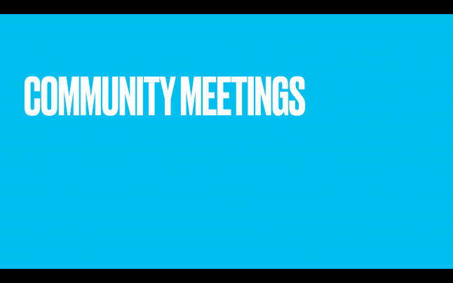 Фото - Community Meetings