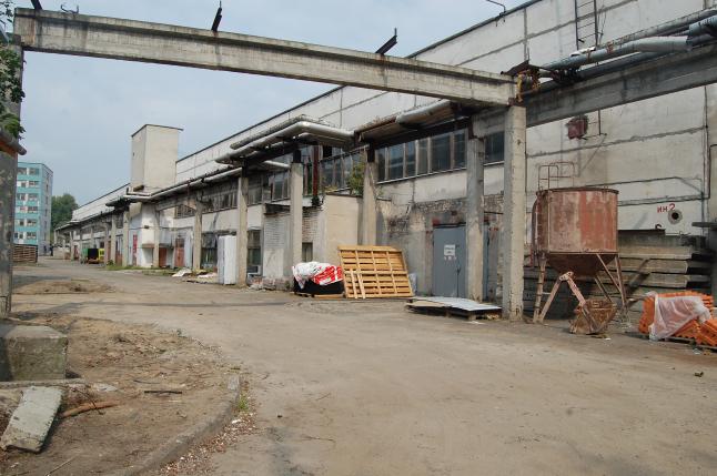 Фото - Реконструкция склада в г. Брест
