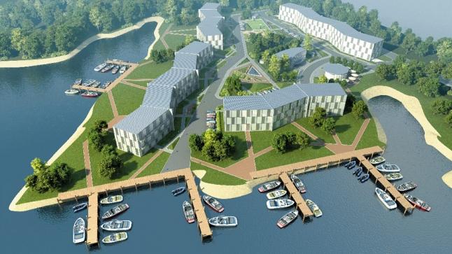 Фото - Строительство жилого комплекса в Риге