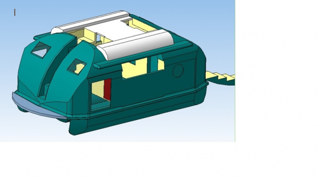 Photo - Prod. of demountable double-hulled vessels  for  water trips