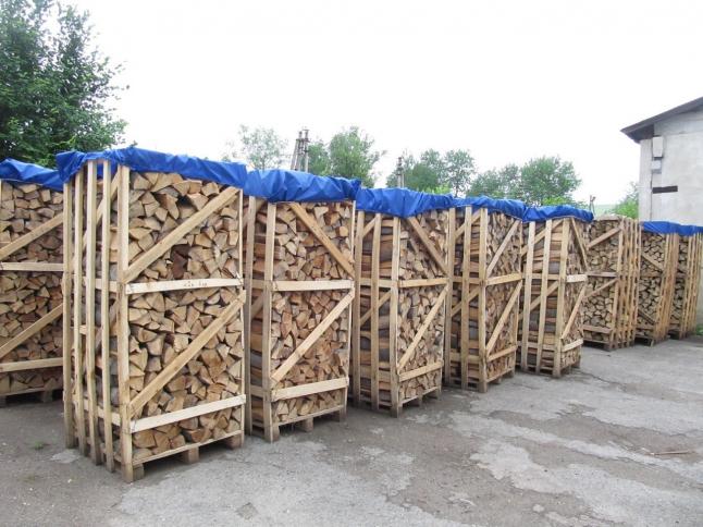 Фото - Продажа в Европу сушеных дров