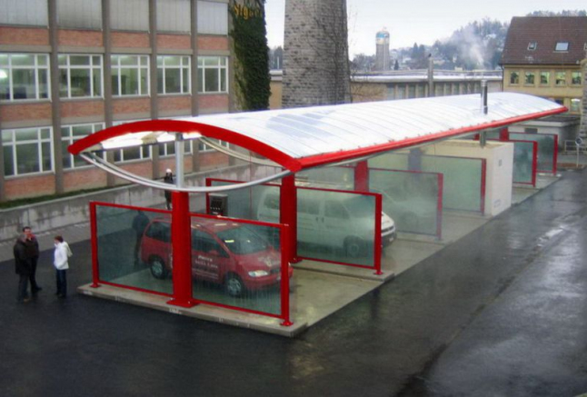 Фото - Открытие бесконтактной мойки в городе Скидель.