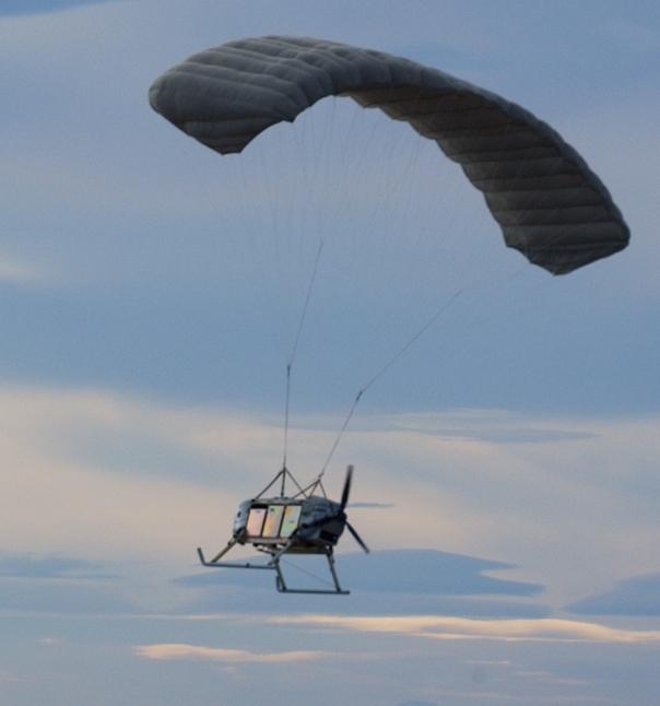 Фото - Беспилотный авиационный комплекс на базе летательного аппарата парапланерного типа