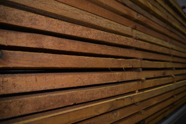 Фото - Производство термо дерева и готовых изделий из него