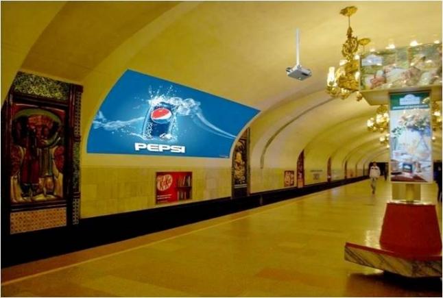 Фото - Размещение рекламы в закрытых помещениях