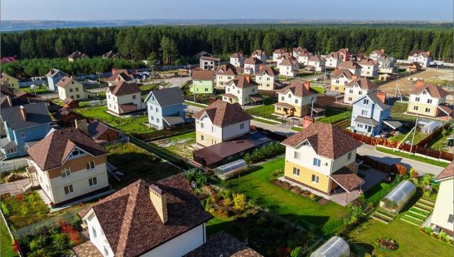 Фото - Строительство коттеджного поселка под Минском