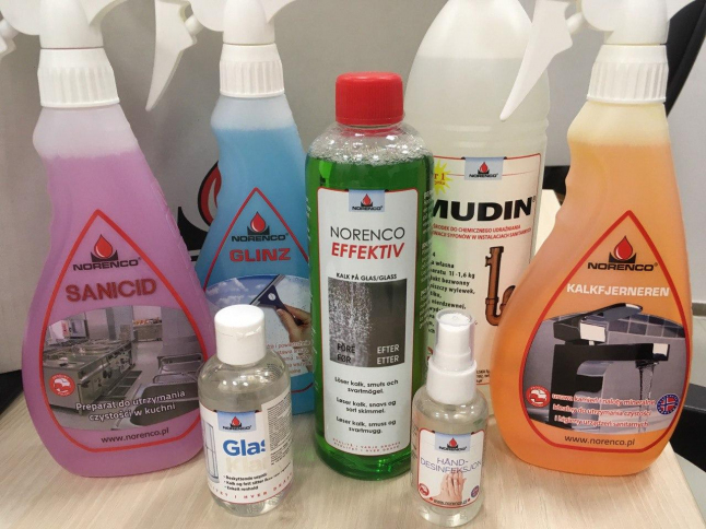 Photo - Creation of the production of industrial detergents