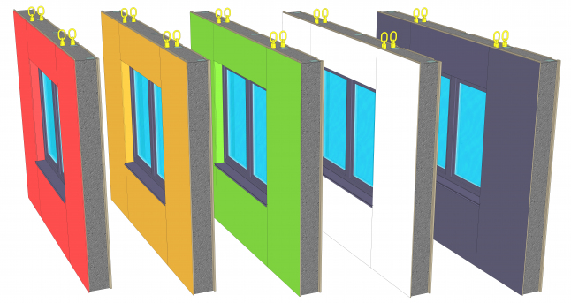 Производство панелей LMS-panel®