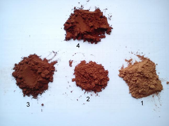 Фото - Переработка какао-порошка натурального.